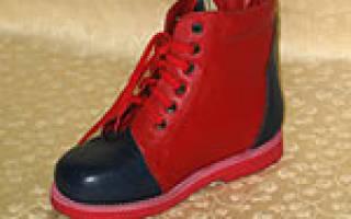 Ортопедическая обувь для Болезнииков