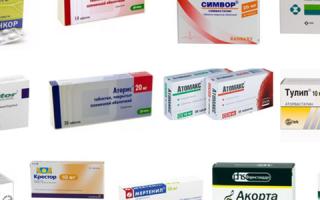 Лекарства понижающие холестерин в крови