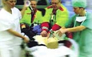 Неотложная помощь при остром Болезние