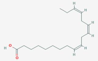 Альфа линолевая кислота польза и вред