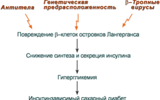 Основные биохимические проявления сахарного Болезниа