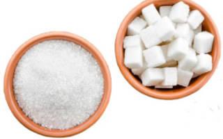 Польза и вред сахара для организма человека