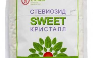 Сладкий сахар со стевией