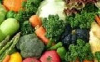 Содержание сахара в овощах таблица