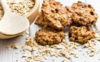 Овсяное печенье гликемический индекс