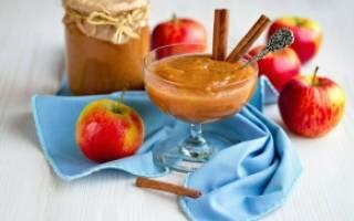 Пюре из яблок без сахара