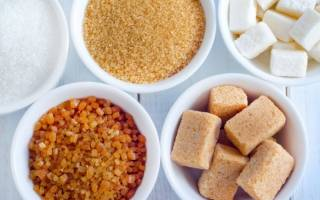 Сахарозаменитель при диете