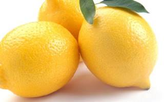 Лимон от давления высокого