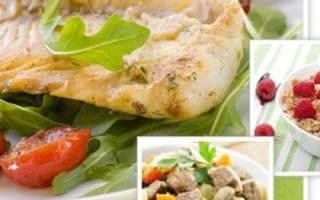 Блюда для снижения Болезниа рецепты