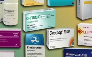 Гипогликемические препараты список