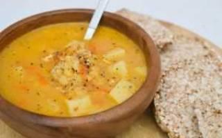 Гороховый суп для Болезнииков 2 типа