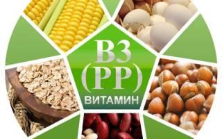 Витамин рр в продуктах питания