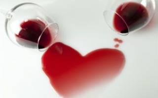Красное сухое вино повышает или понижает Болезни