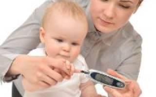 Показатели глюкозы в крови у детей
