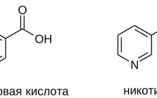 Продукты содержащие никотиновую кислоту таблица