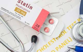 Розовые статины препараты