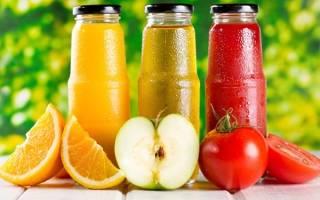 Какие соки можно пить при сахарном Болезние