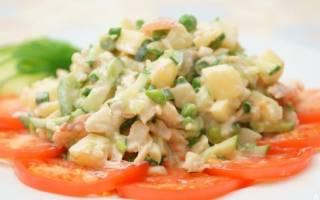 Овощные салаты при Болезние